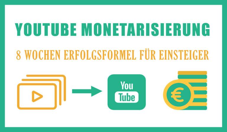 YouTube Monetarisierung 2021 – wie man als YouTuber Geld verdienen kann